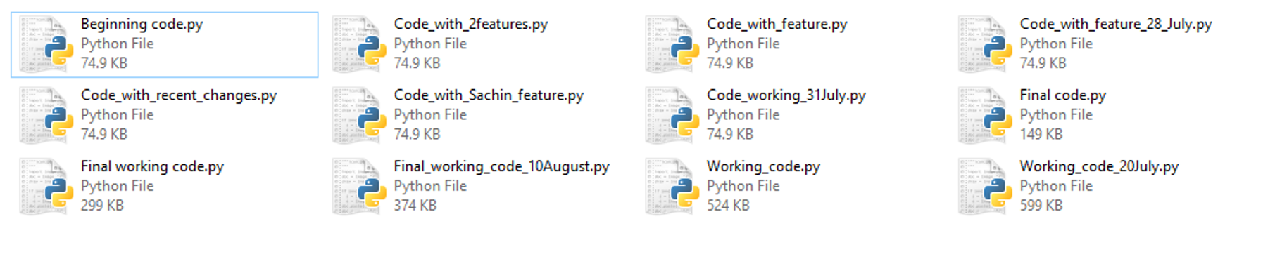 need for git